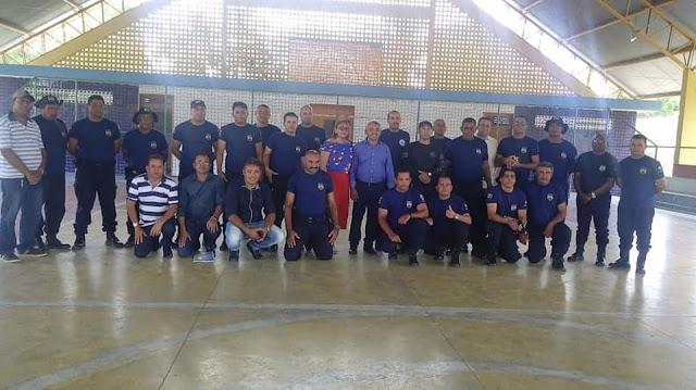 Prefeitura  de Olho d' Água do Casado através da Guarda Civil Municipal realizam curso de capacitação profissional