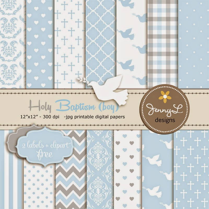 Jennyl Designs Digital Papers Clipart Digital