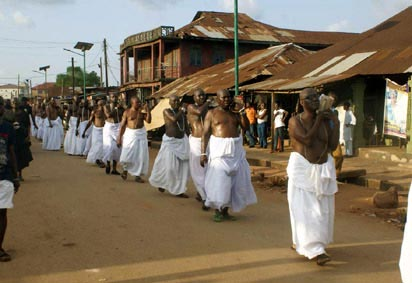 Photos: Late Oba of Benin laid to rest