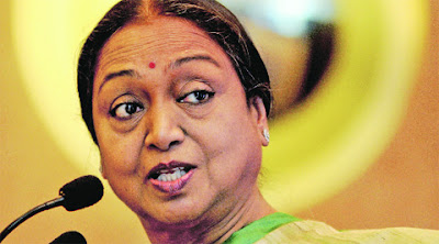 Meira Kumar in Hindi