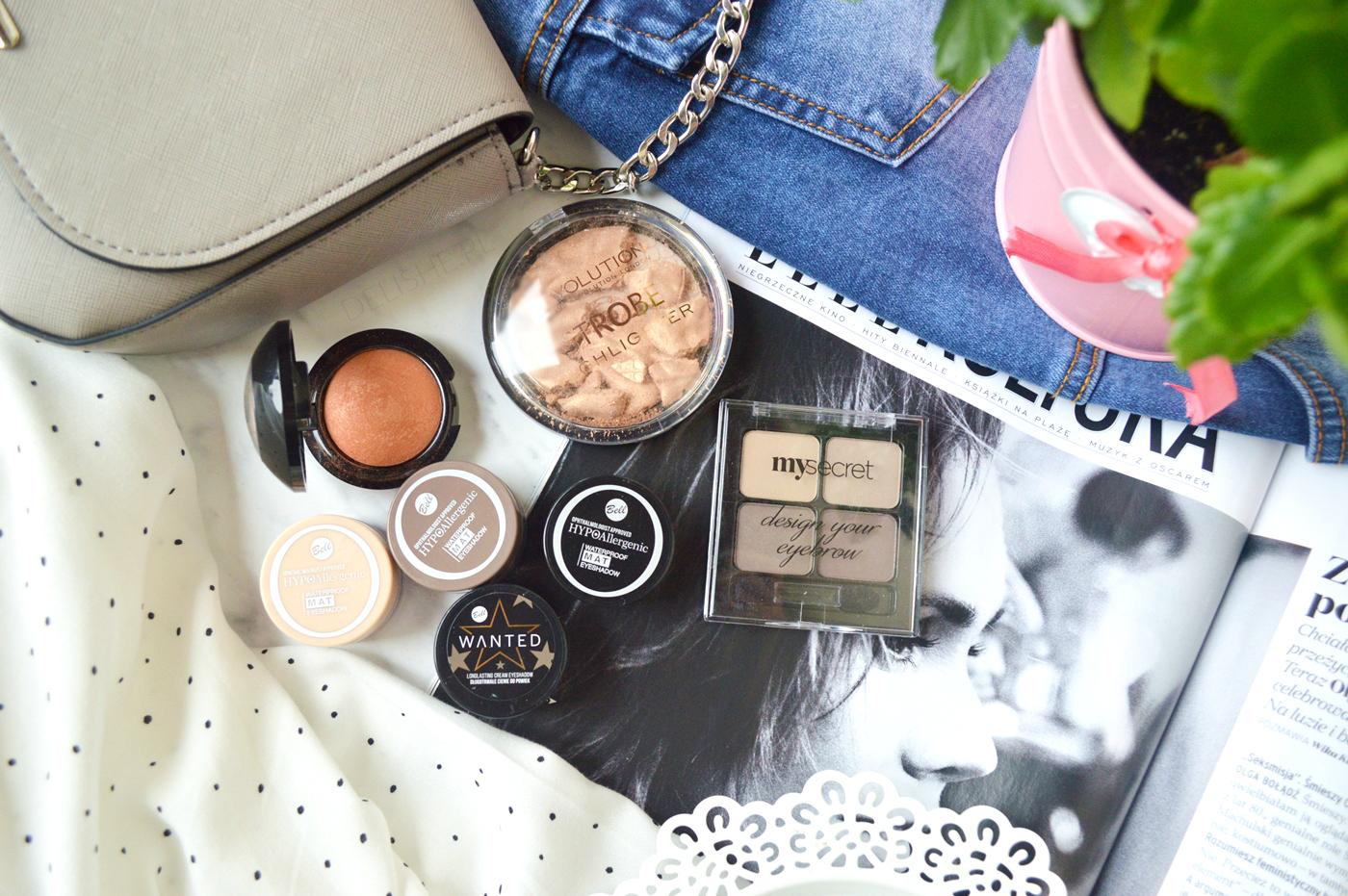 kosmetyki do makijażu bell haul blog