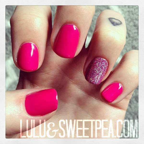 Lulu sweet pea diy gel nails at home like this post pin it solutioingenieria Image collections