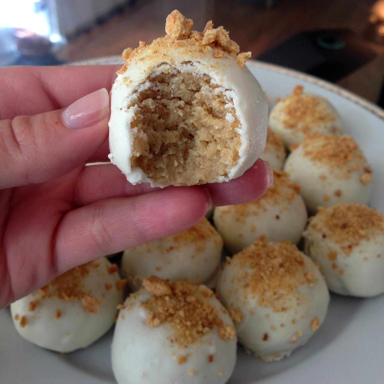 How To Make Pumpkin Cream Cheese Cake Balls