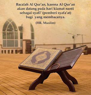 Dengan Membaca Al Quran Maka Olah Rasaku Semakin Menjadi...