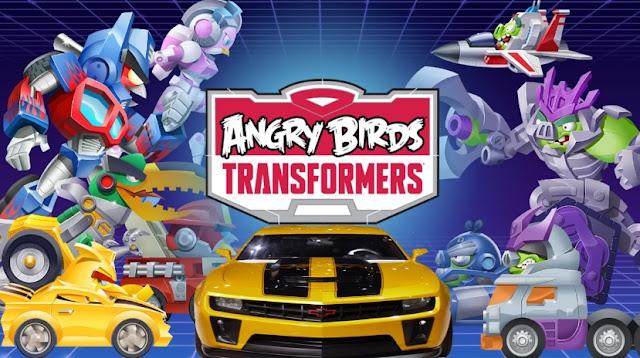 Angry Birds Transformers v1.29.8 Mod Apk Terbaru