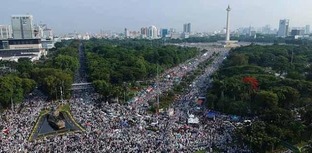 Reuni 212 Kian Ramai karena Kecewa pada Jokowi