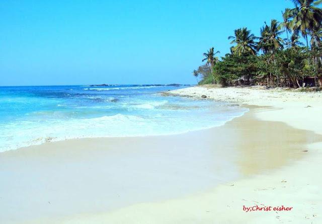 Pantai Legon Pari Di Bayah Provinsi Banten
