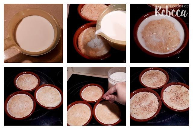 Receta de bizcochada manchega: remojando las tortas