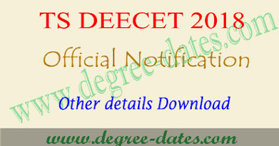 TS Deecet notification 2018, dietcet online apply, exam date, eligibility Telangana