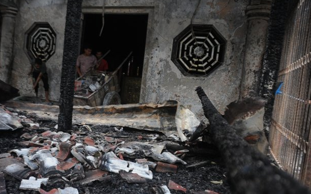 AGEN BOLA - Vihara Bio Dewa Rejeki Di Kabupaten Bogor Terbakar