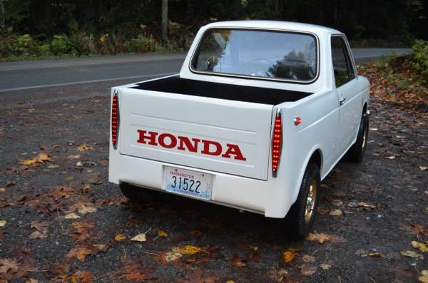 Daily Turismo: ElNorimono: 1971 Honda N600 Pickup