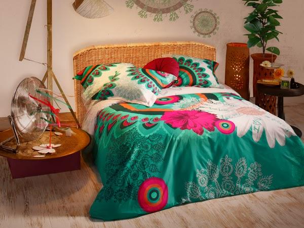 Desigual Bedding: Homebuildlife: Desigual: Spring/Summer 2014 Living Collection