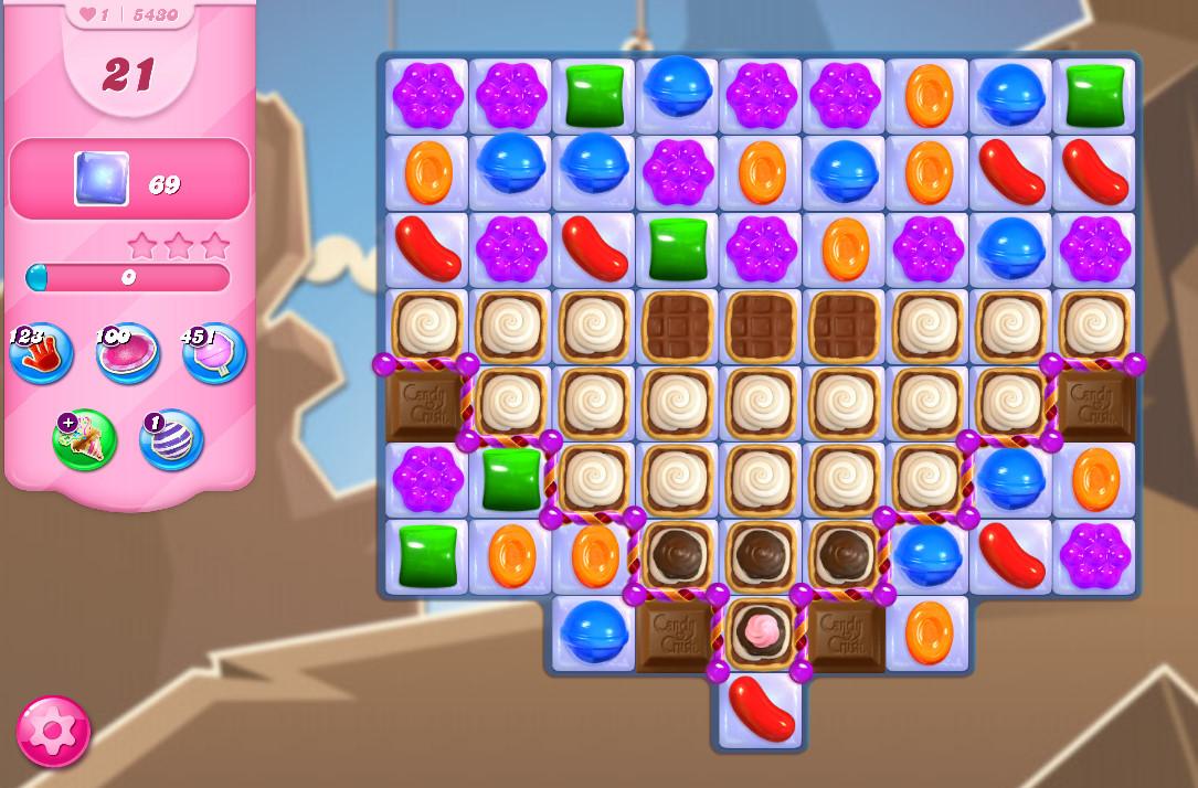Candy Crush Saga level 5430
