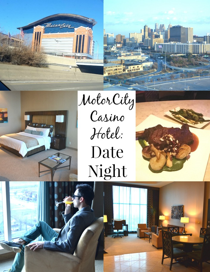 For a luxurious and romantic date night, consider staying at MotorCity Casino Hotel and dine at Detroit's 4 star restaurant Iridescence!