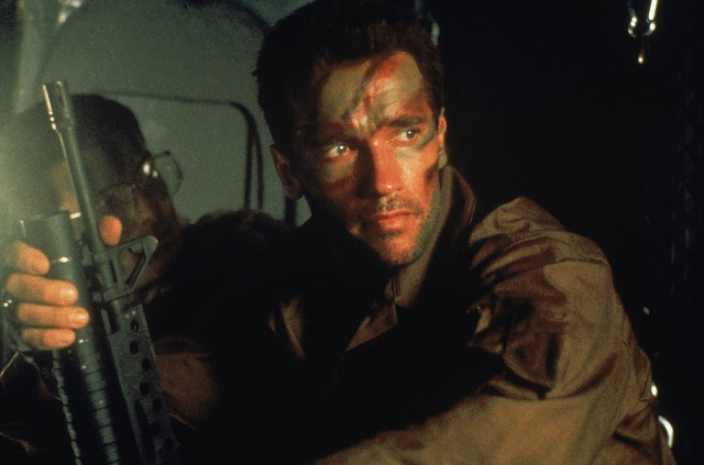 John McTiernan's Predator Arnold Schwarzenegger as Major Dutch Schaefer