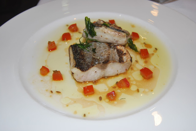 sea bass, the Seafood Restaurant, Padstow photo by modernbricabrac