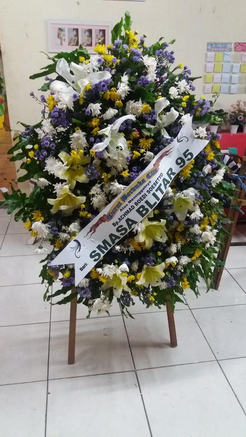 Bunga Krans Dukacita Smasa Blitar 95 Oriza Florist