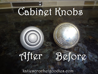 updating cabinet knobs