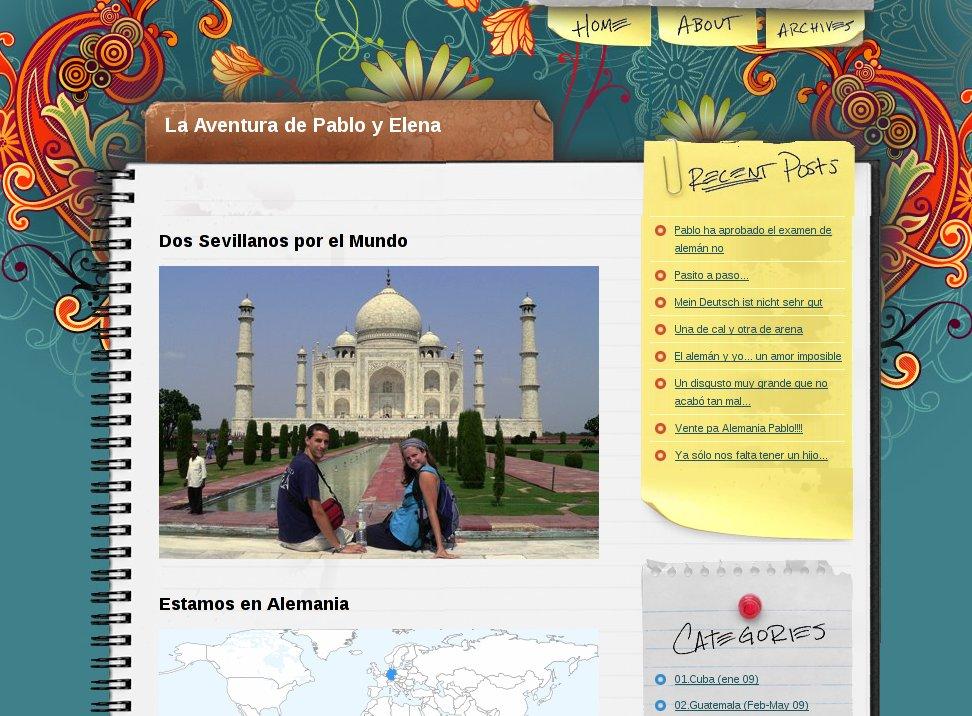 la aventura de pablo y elena, vuelta al mundo, round the world, información viajes, consejos, fotos, guía, diario, excursiones