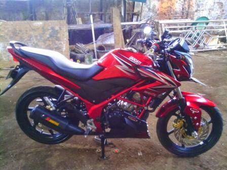 Modifikasi Honda CB150R Streetfighter Gaya Terbaru