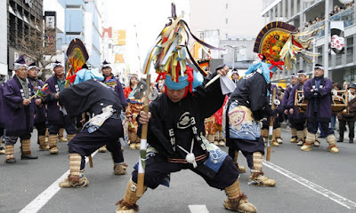 Hachinohe Enburi Parade 八戸えんぶり行列