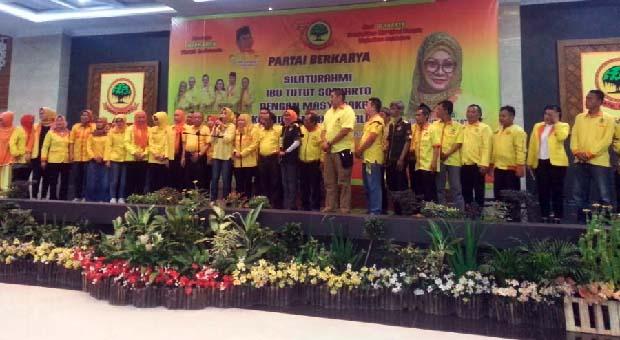Eka ke Tutut Soeharto 'Tasik Plus Jadi Model Pemenangan Partai Berkarya'