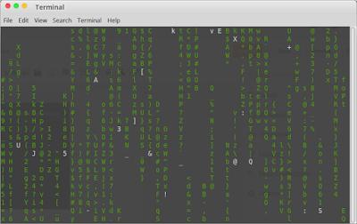 Cara Menampilkan Matrix di Linux Terminal