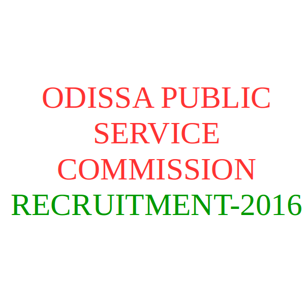 Opsc recruitment notification 2016 for additional rto and for Motor vehicle service notification