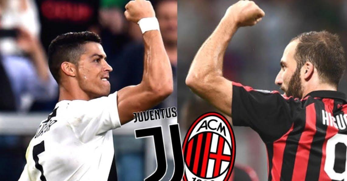 Diretta JUVENTUS-MILAN Streaming Online su Rai Play Supercoppa Italiana Gedda 2019