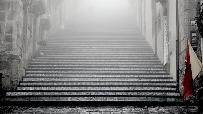 Wallpaper: Staircase of Santa Maria del Monte
