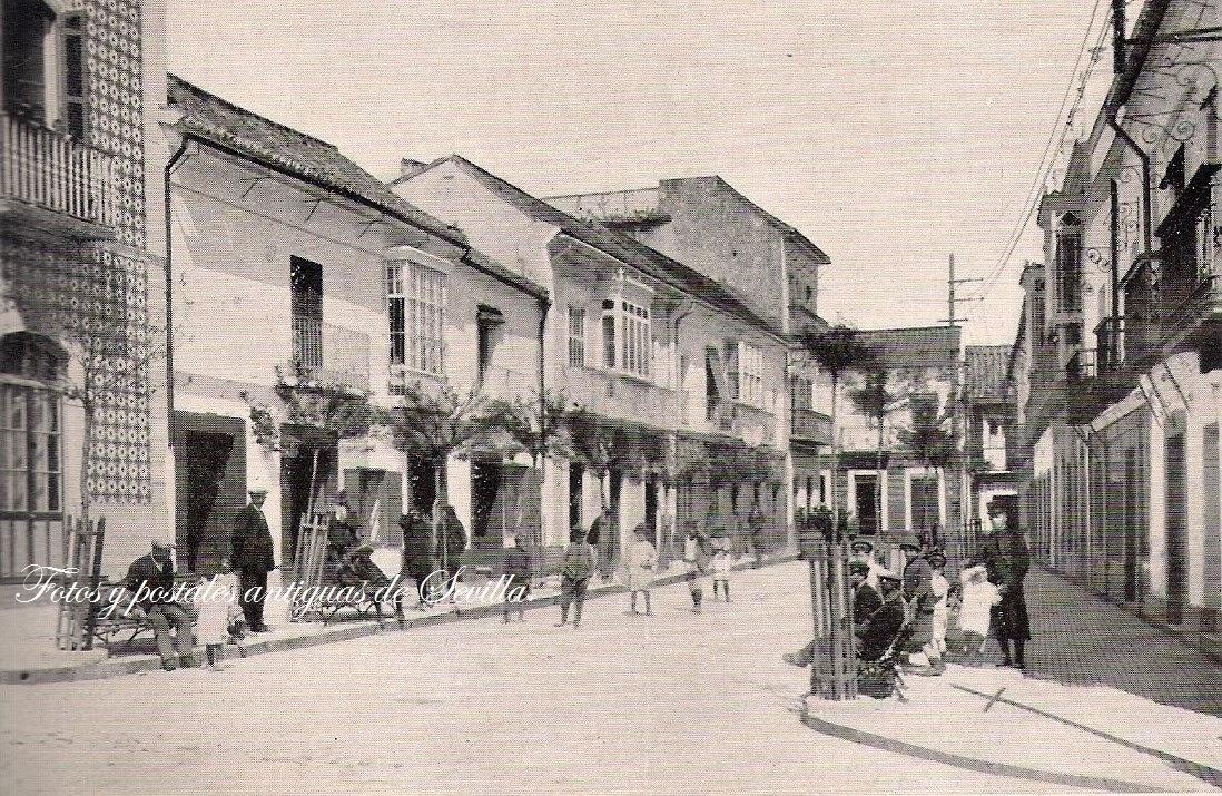 Fotos y postales antiguas de sevilla fotos antiguas de for Calle castelar