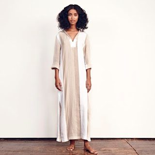Ace & Jig Hooded Mesa Dress in Solstice