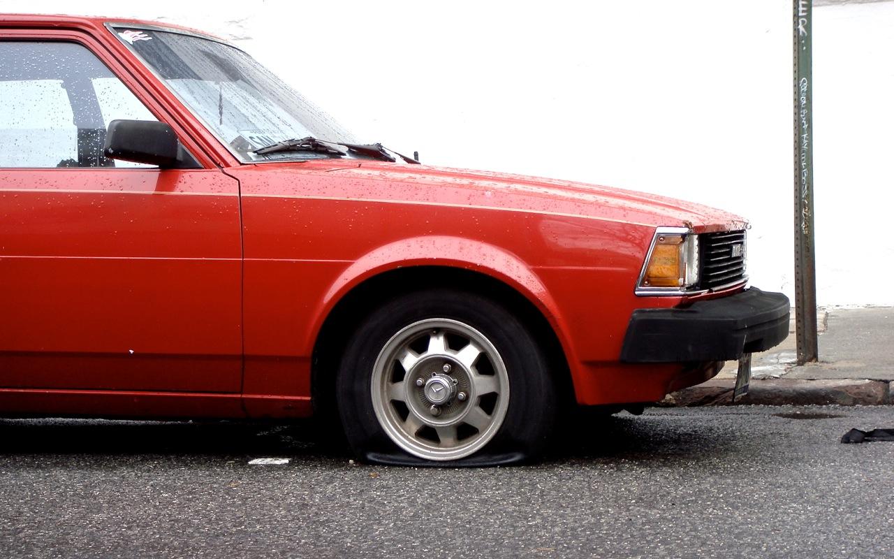 Toyota Corolla Tires >> THE STREET PEEP: 1982 Toyota Corolla 2 Door (Rotary)