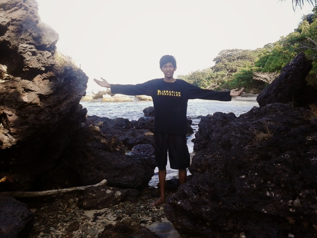 Disalah satu sudut ujung pantai Batu Putih, Karimunjawa
