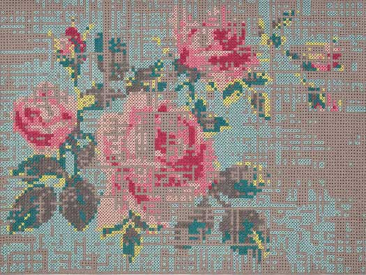 Embroidery as Art: Charlotte Lancelot for Gan Rugs