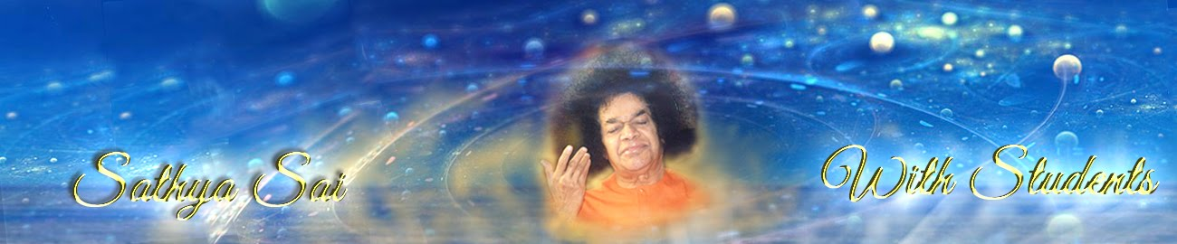 Sathya Sai with Students