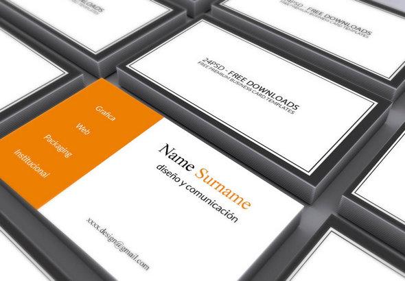mockups de tarjeta de presentación  de calidad y gratis