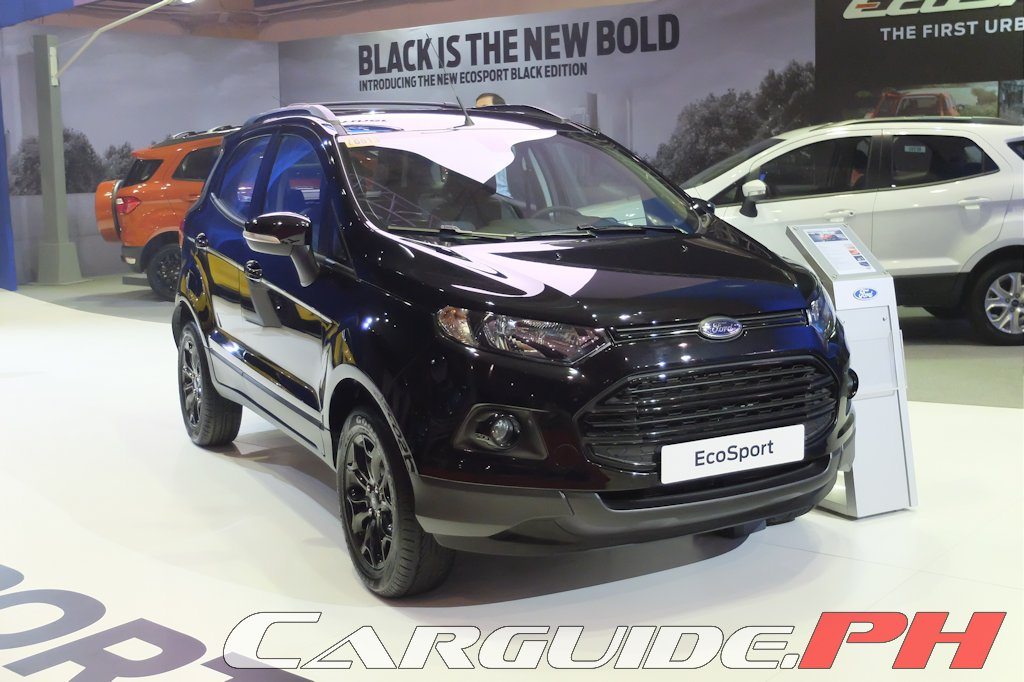 Mias 2016 Ford Introduces New Ecosport Everest Variants