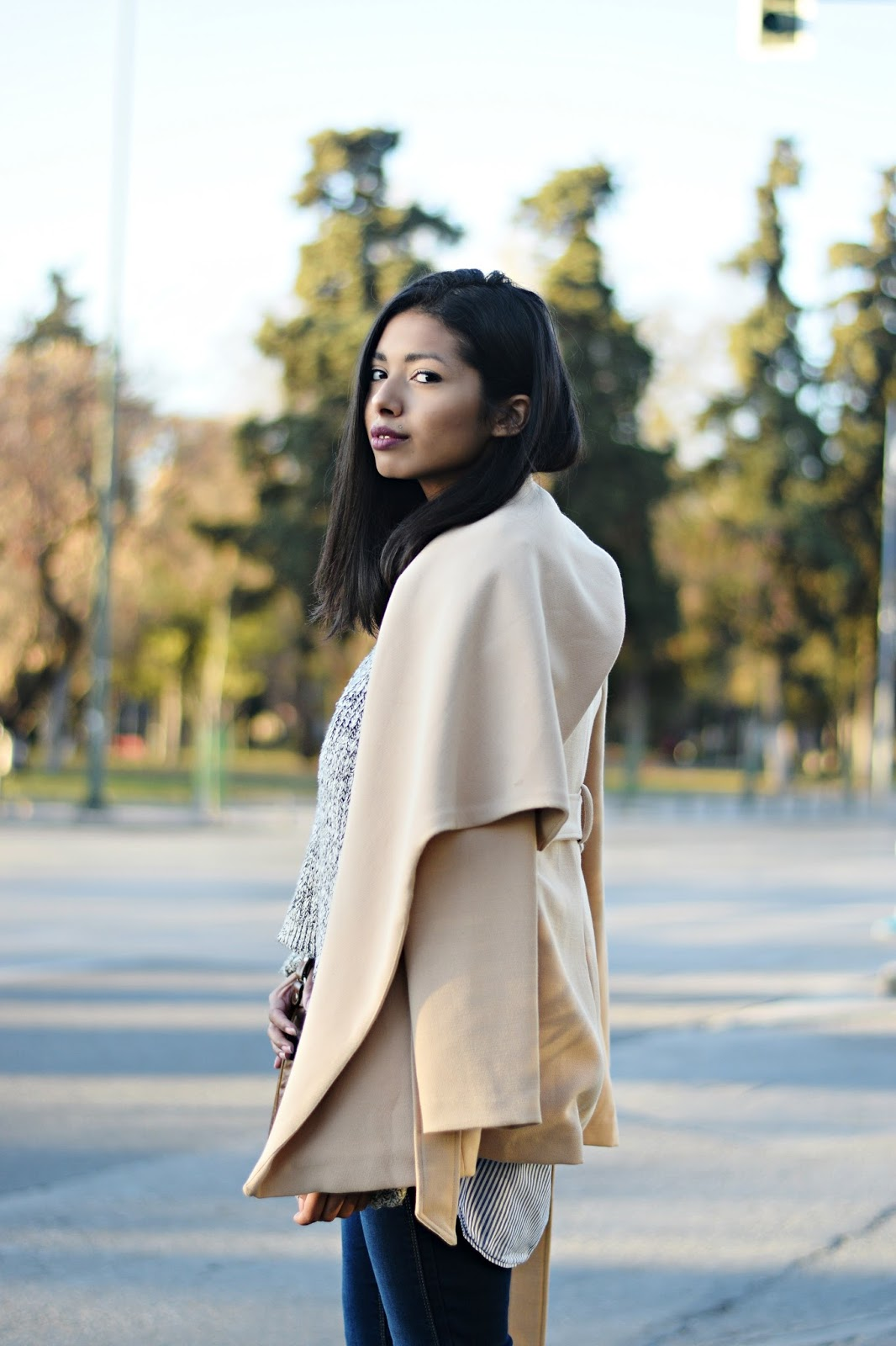 k-meets-style lapel coat