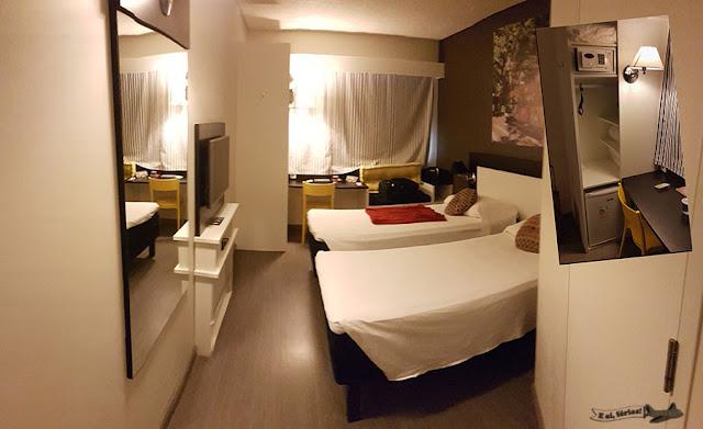 Hotel Ibis Styles Porto Alegre Centro. Dezembro/2016.