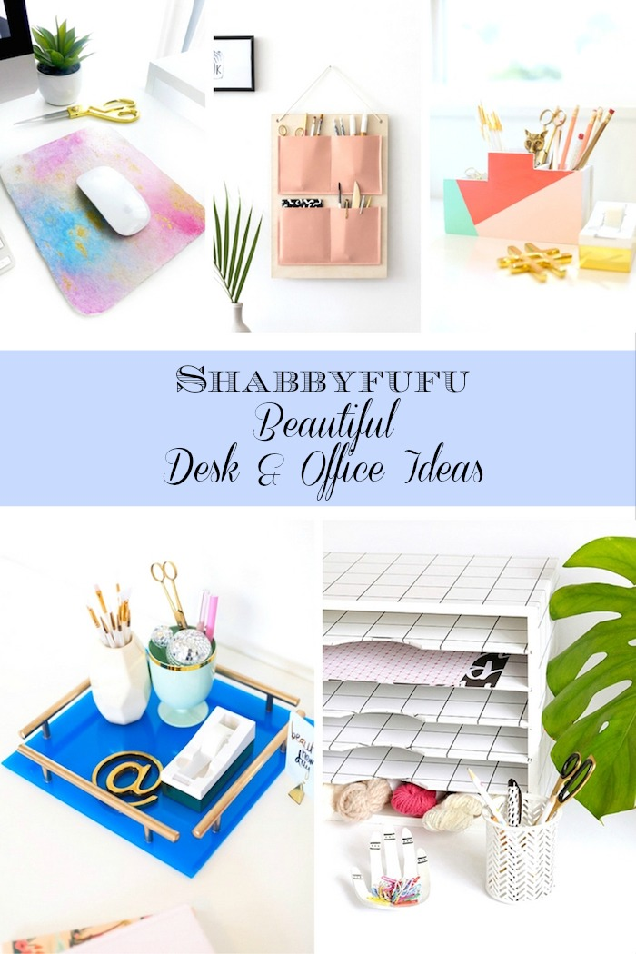 Desk projects, how to build a desk, diy desk organizer, file tray
