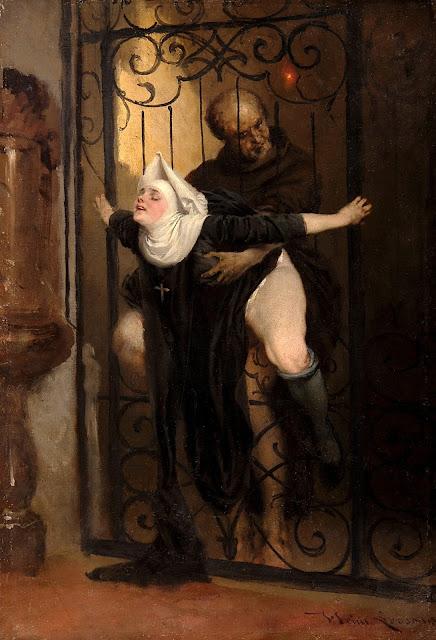 Heinrich Lossow - il peccato - erotismo - arte - sessualità