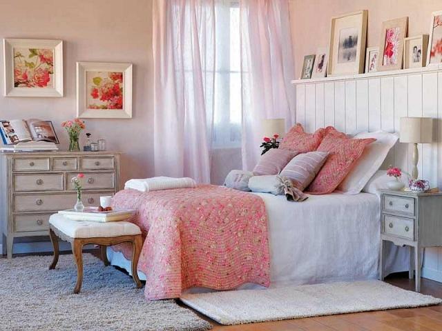 Como decorar un dormitorios femenino - Decorar dormitorio ...