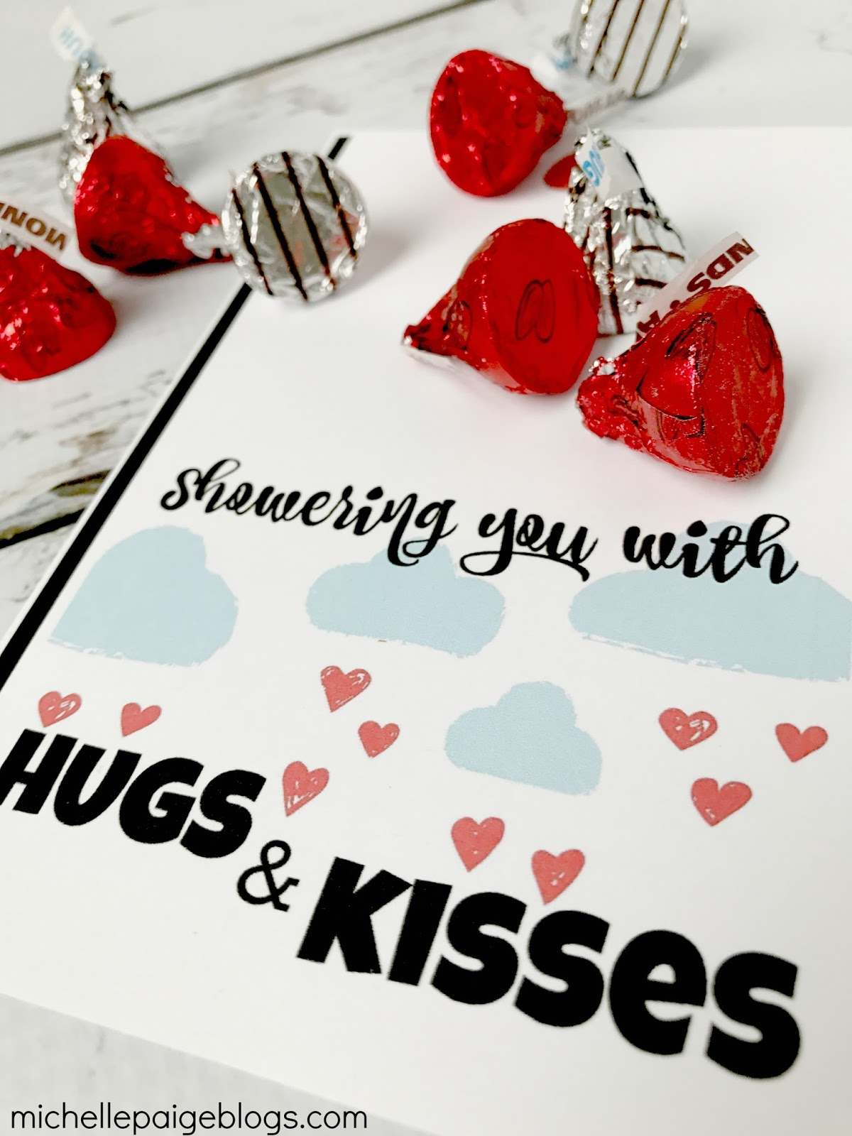 Michelle Paige Blogs Showering You With Kisses Valentine