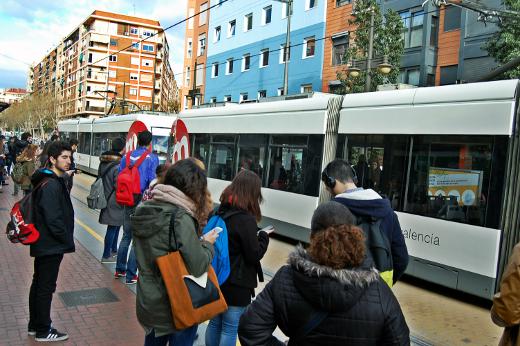 El 73% de los usuarios de Metrovalencia realiza sus desplazamientos por motivos de trabajo o estudios