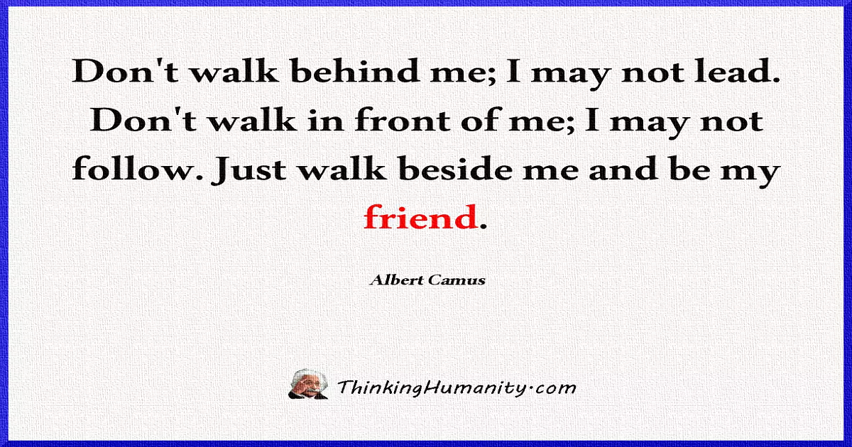 39 Philosophical & Thought-Provoking Quotes By Albert Camus
