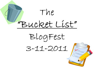 The Bucket List Blogfest!
