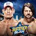 "WWE SummerSlam 2016 ""John Cena vs AJ Styles"" - Download Official HQ Wallpaper"