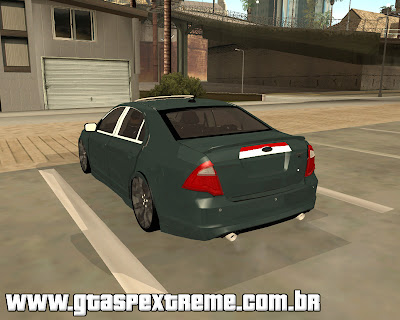 Ford Fusion Sport Tuning para grand theft auto