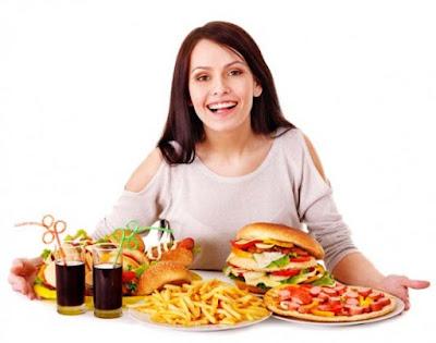Tăng khẩu phần ăn để phương pháp tăng cân cho nữ giới hiệu quả
